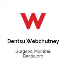 Dentsue Webchutney